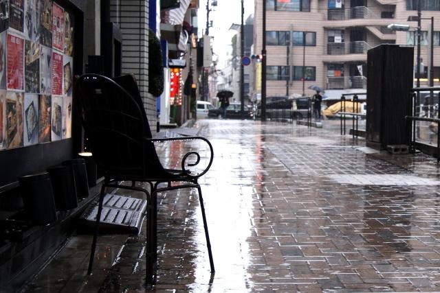 梅雨のポスティングでの注意事項